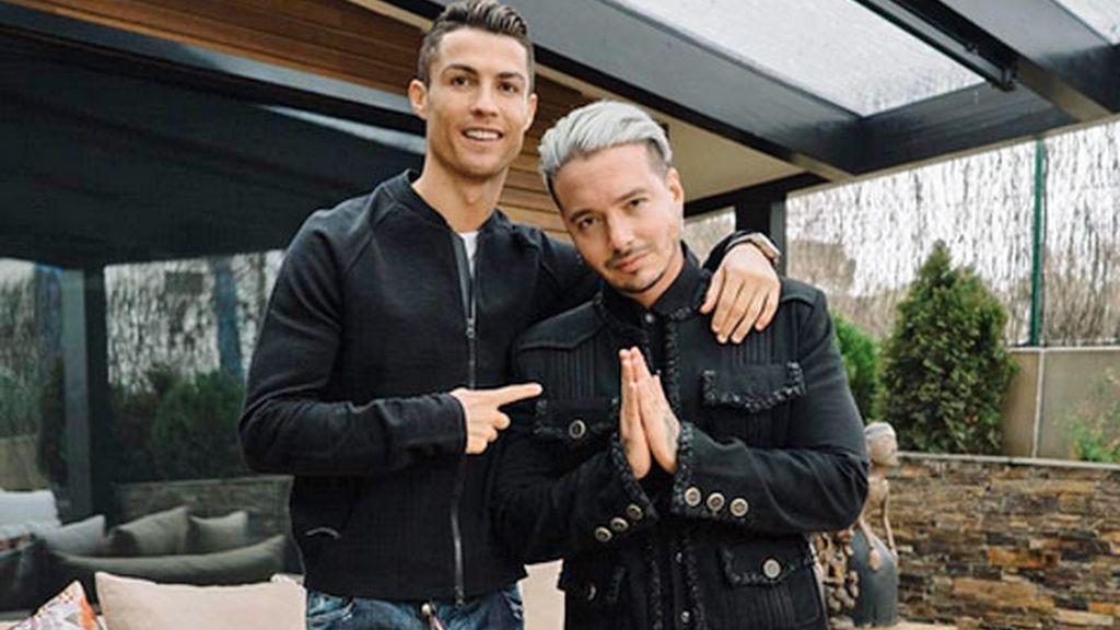 Cristiano Ronaldo,JBalvin