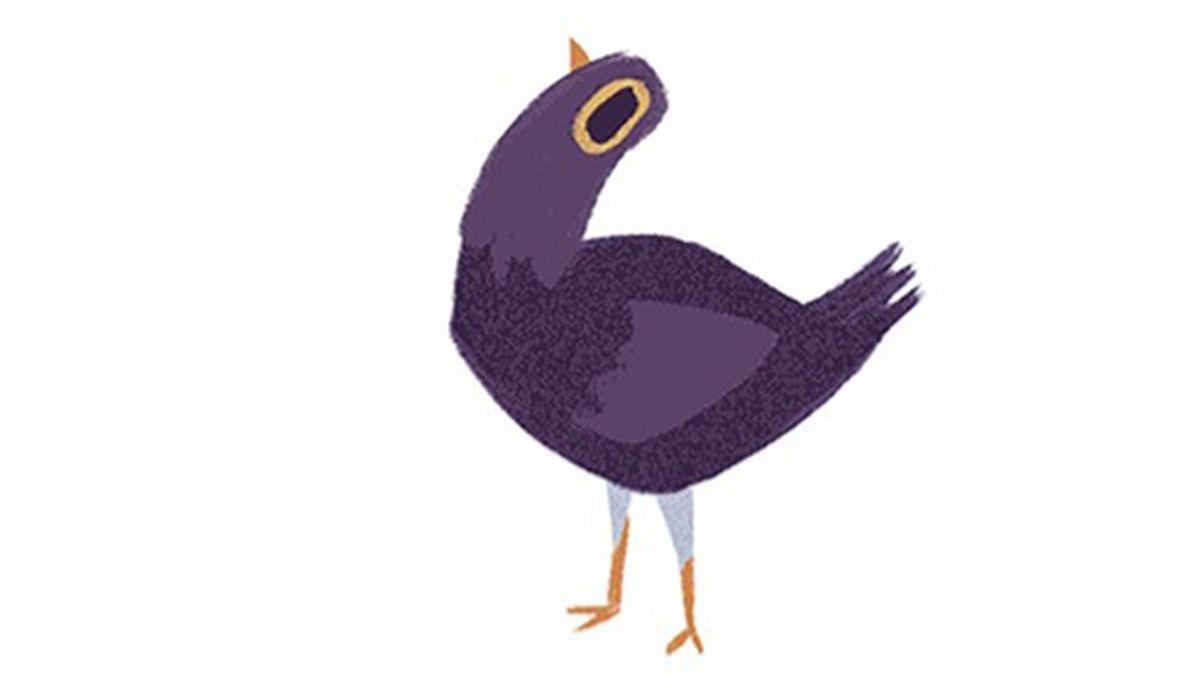 ¿Por qué una disparatada y frenética paloma está en todas partes en Facebook?