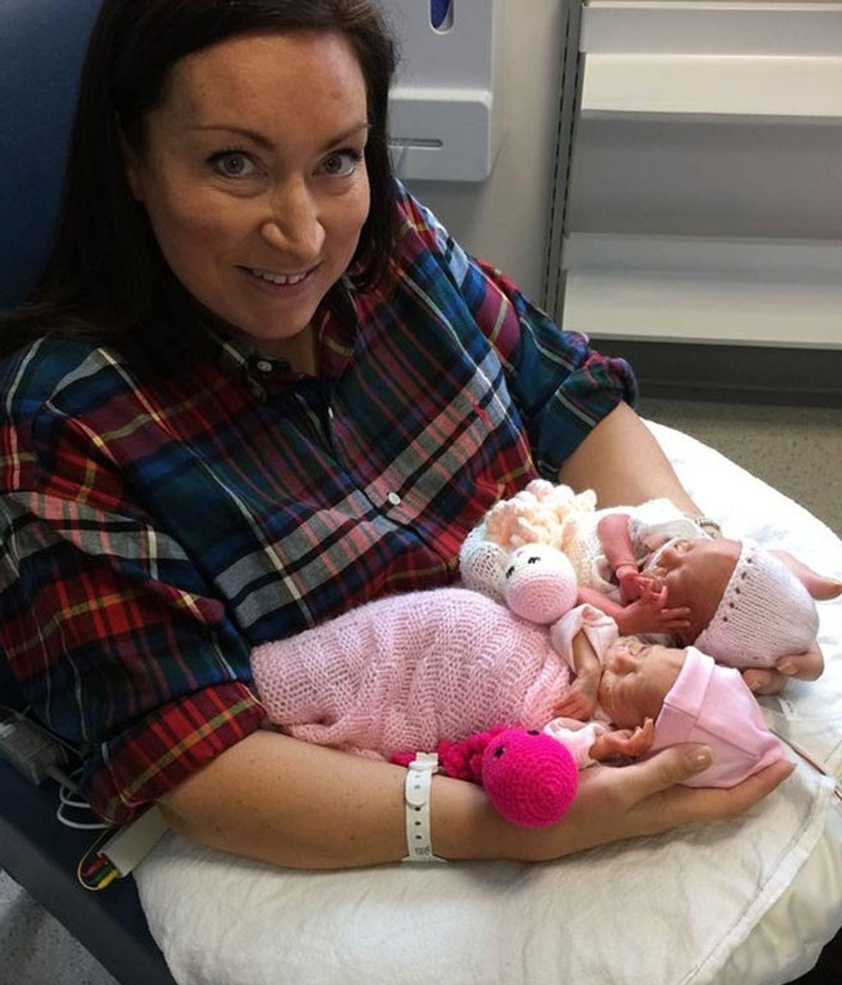 Los pulpos de lana que mejoran la recuperación de los bebés prematuros