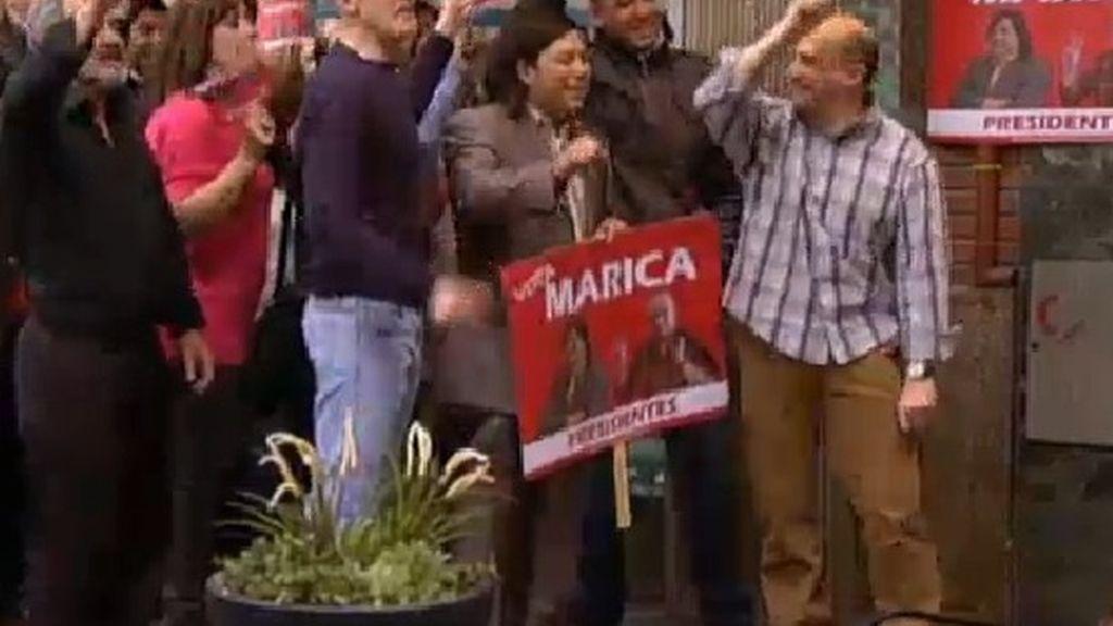 El boicot de Mauricio a la campaña electoral de Chema y Machupichu