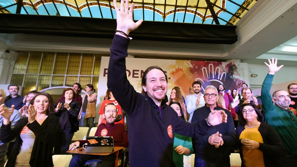 Pablo Iglesias presenta su lista