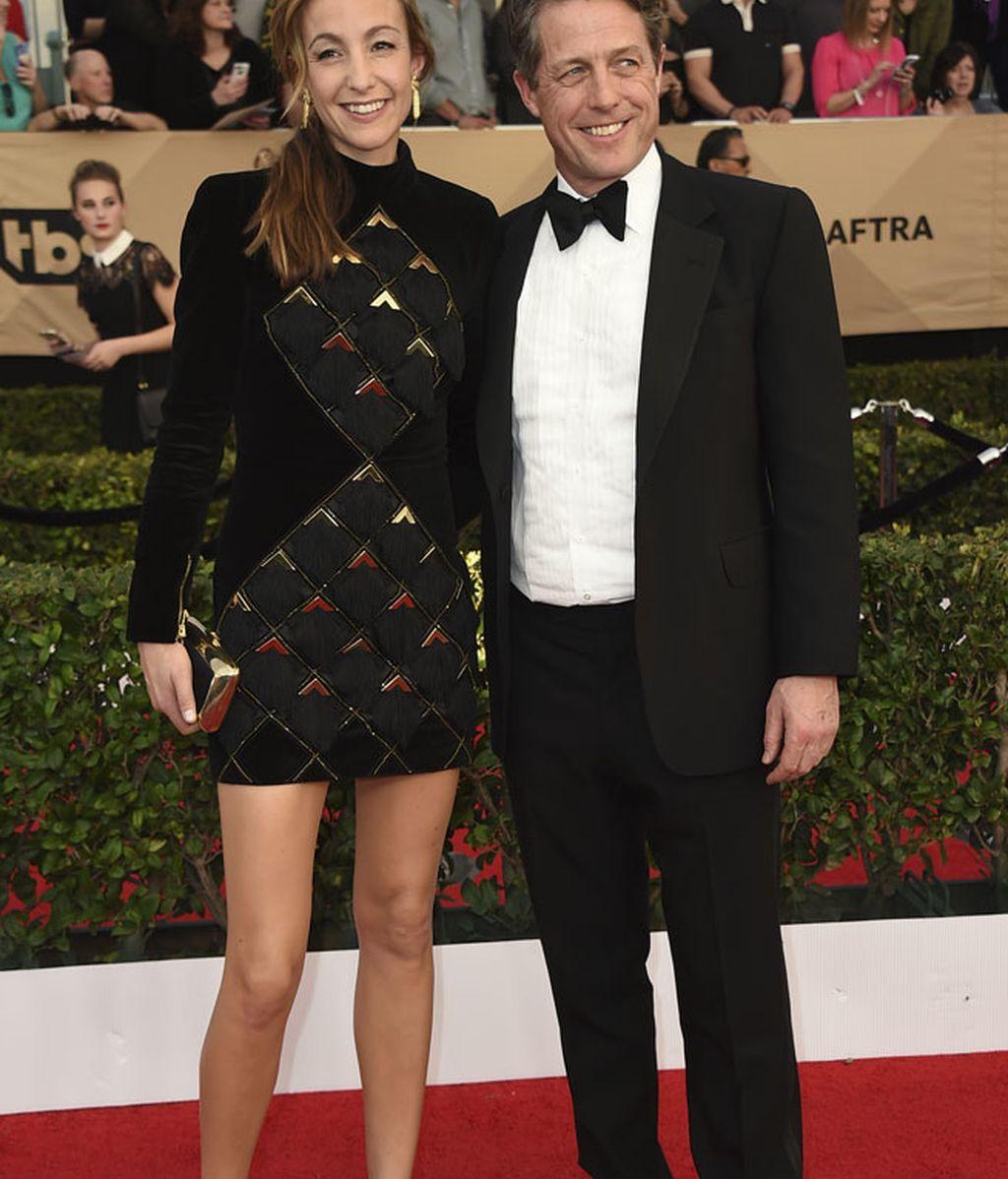 Anna Elisabet Eberstein y Hugh Grant, juntos de nuevo en la alfombra roja