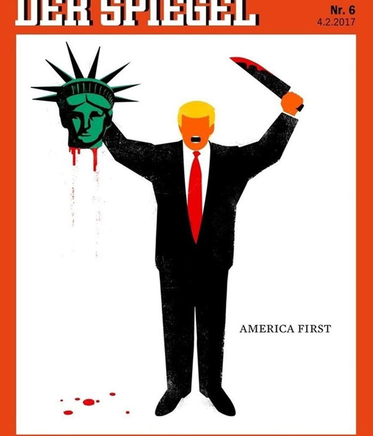 'Der Spiegel' defiende su polémica portada sobre Donald Trump