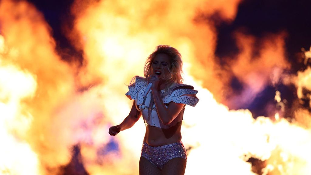 Lady Gaga en la Super Bowl