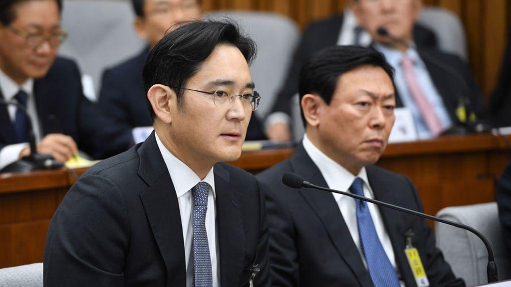 Arrestan al vicepresidente de Samsung Lee Jae Yong
