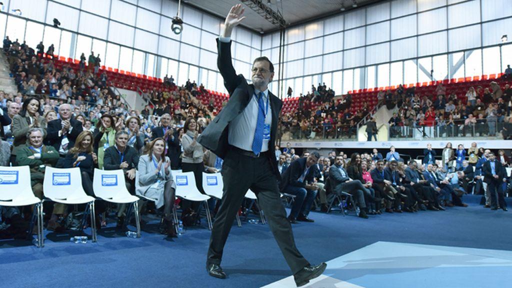 """Cierre triunfal de Rajoy: """"Mi determinación es más fuerte y cada día va a más"""""""