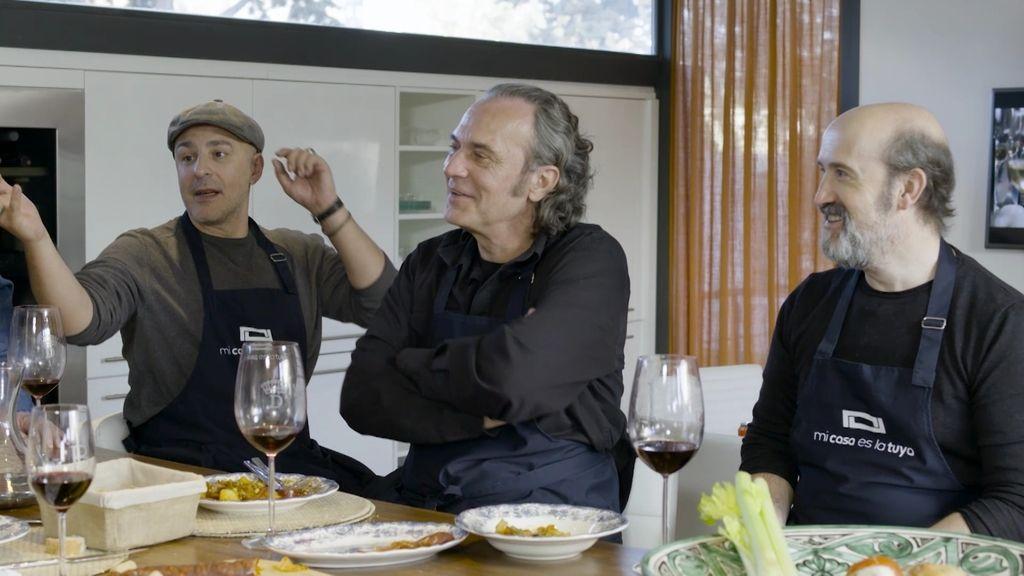 Javier Cámara, José Coronado y Roberto Álamo Mi casa es la tuya