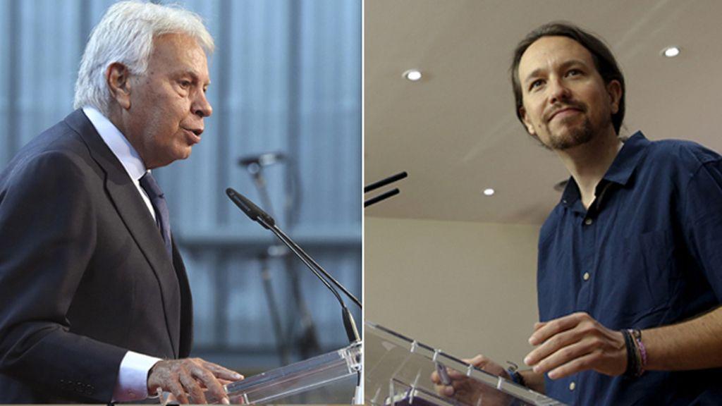 """Iglesias responde a González: """"El mayordomo de Carlos Slim no nos da lecciones"""""""
