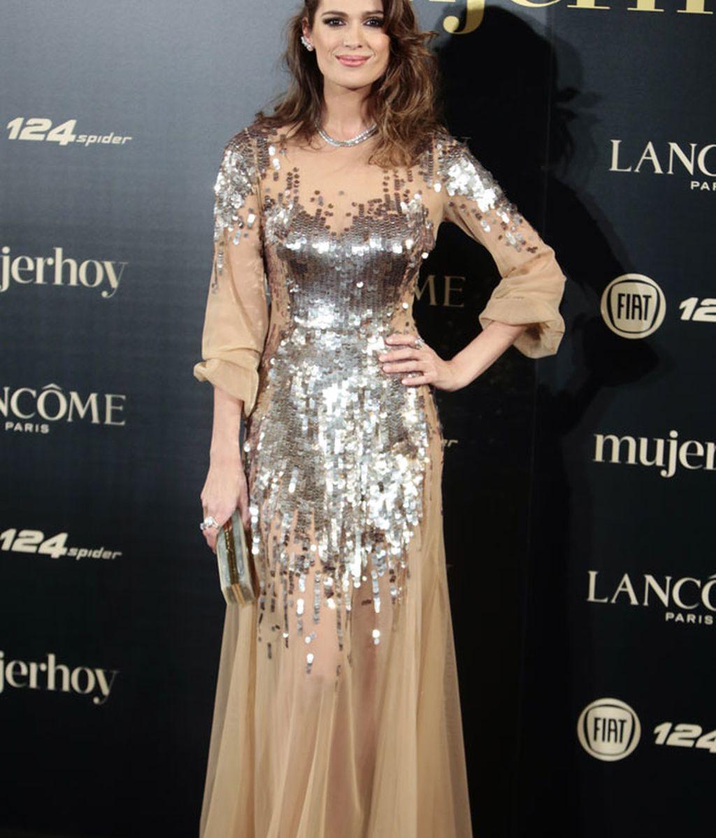 Mar Saura, presentadora de la gala, de Elisabetta Fracci