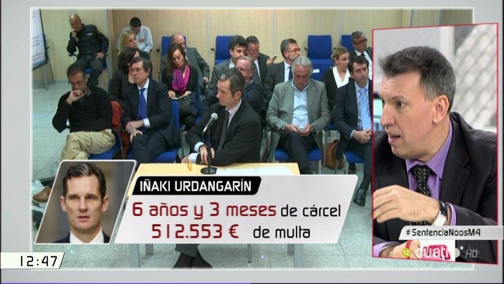 ¿Cuánto tiempo pasará Urdangarin en prisión? La explicación del juez Bosch