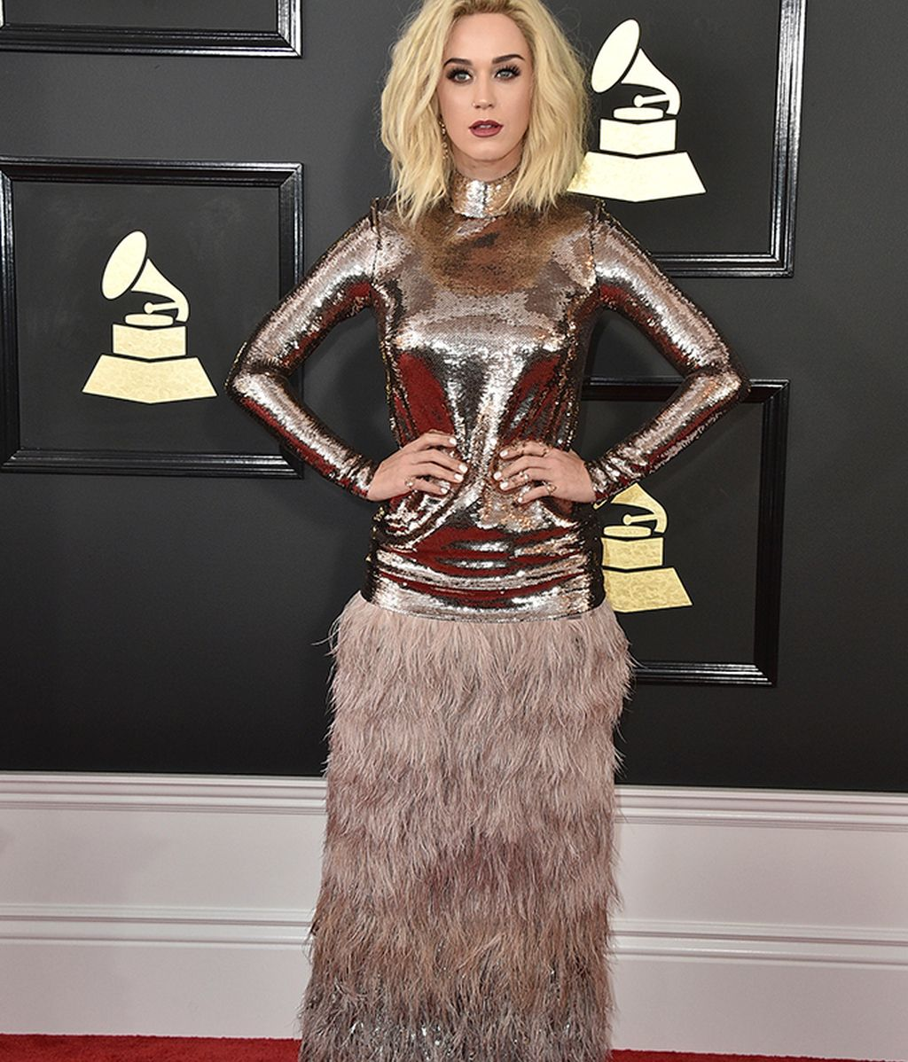 Katy Perry vestida de Tom Ford