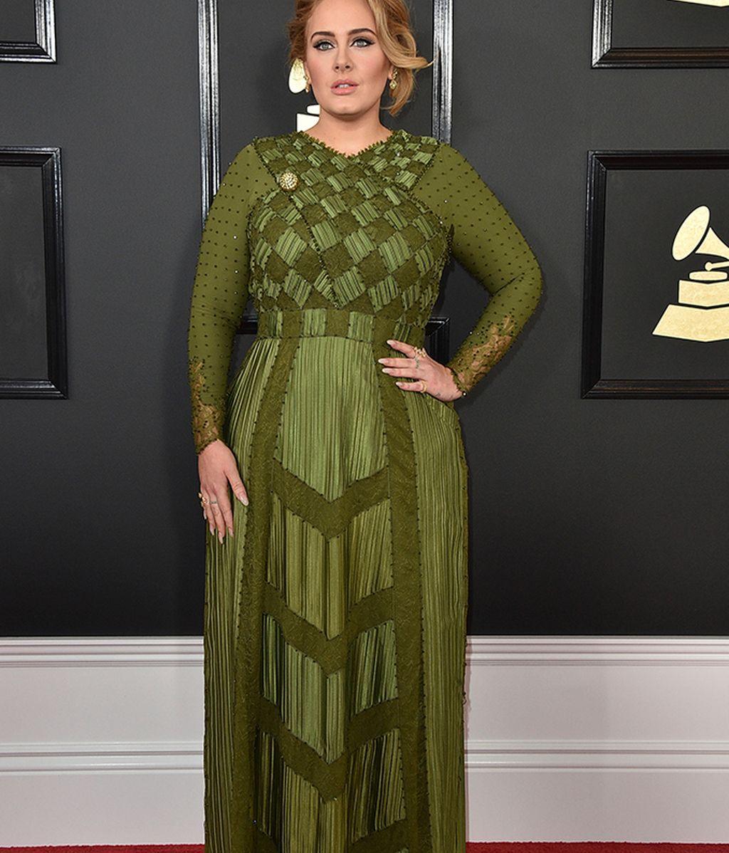 Adele con vestido de Givenchy