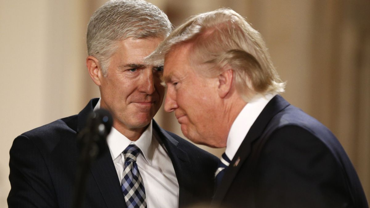 Donald Trump elige al conservador Neil Gorsuch como nuevo juez del Supremo
