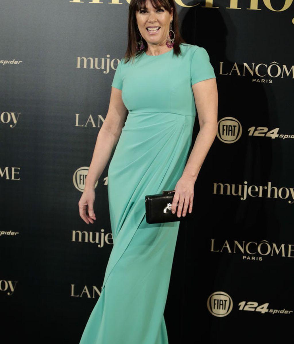 La actriz Mabel Lozano lució un diseño de Tot Hom