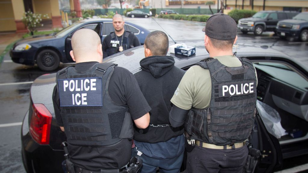 Operación contra inmigrantes en EEUU