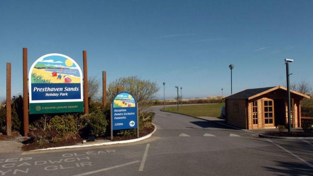 parque caravanas, gales del norte