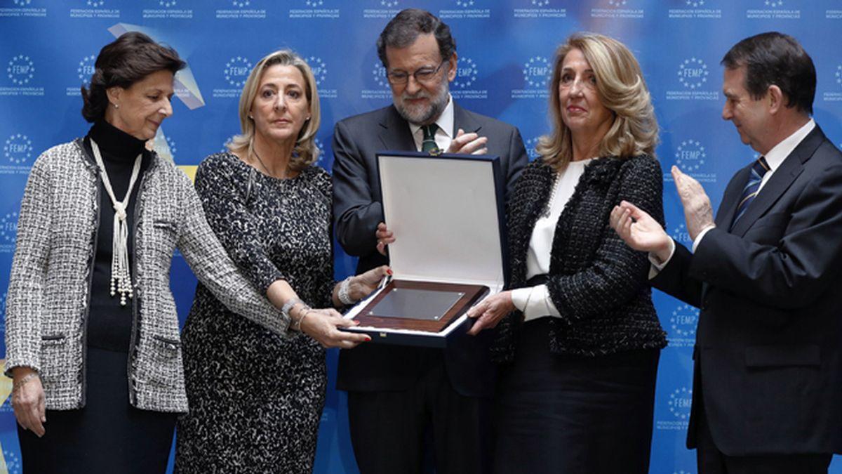 """Rajoy, del homenaje a Rita: """"Es también para tantos a los que el terrorismo arrebató la vida"""""""