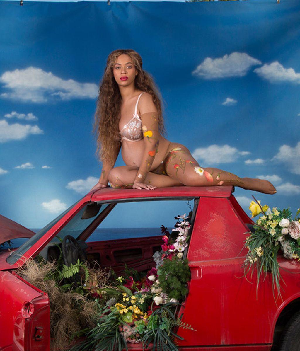 Las mejores imágenes del embarazo de Beyoncé