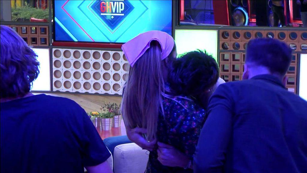 ¿Se están besando los concursantes de 'GH VIP'?