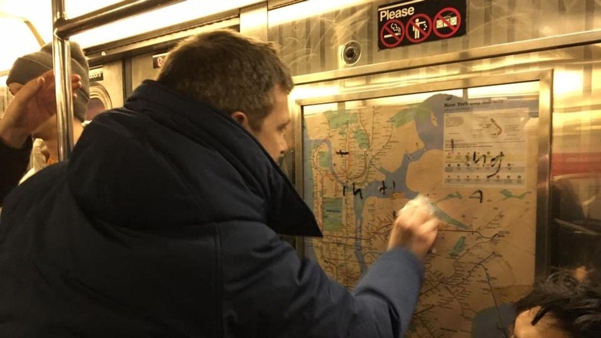 Las esvásticas se ciernen sobre Nueva York