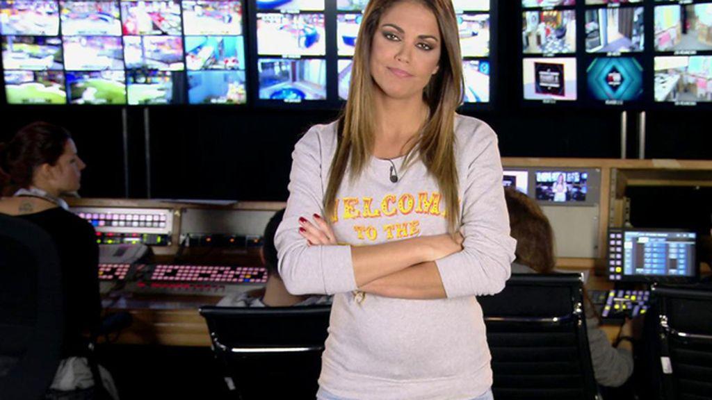 Lara Álvarez muestra una incipiente barriga