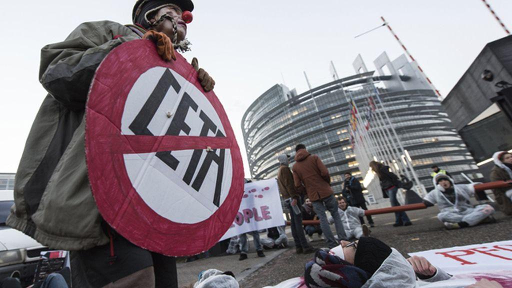 Protestas CETA