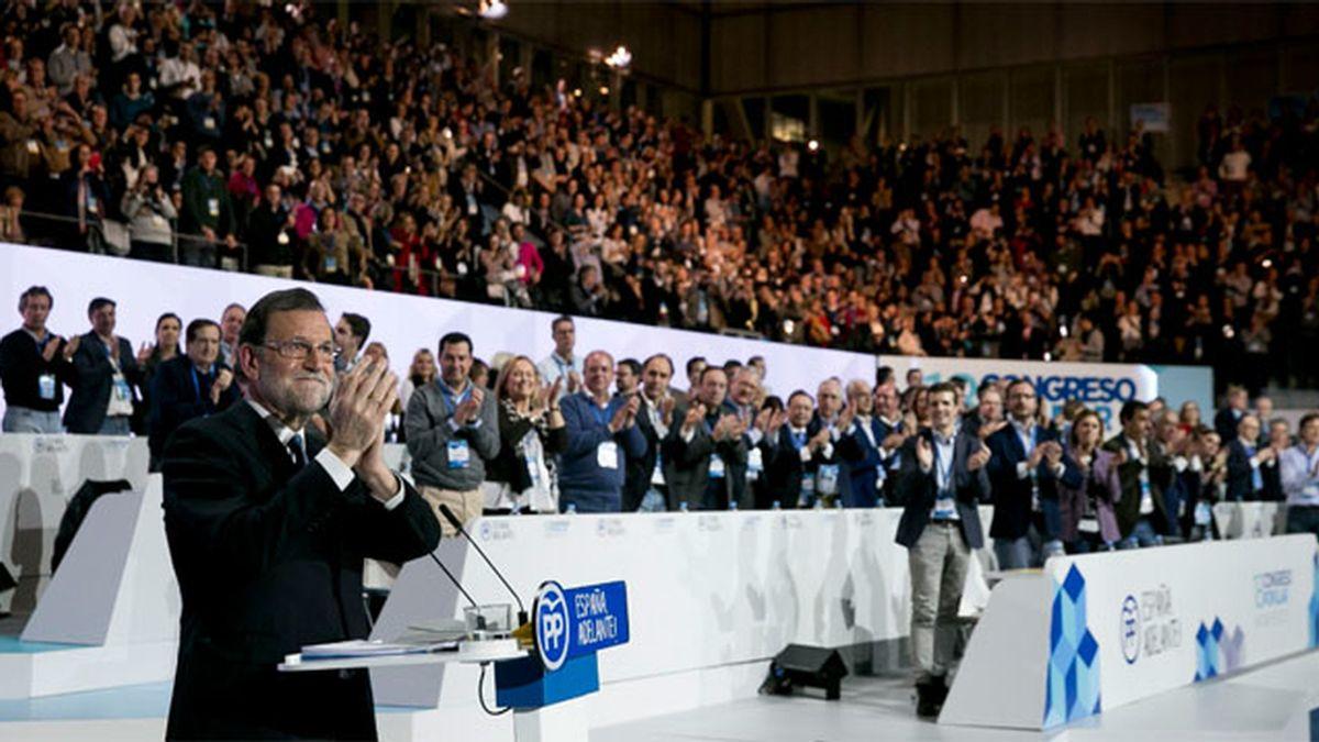 Rajoy, reelegido presidente PP