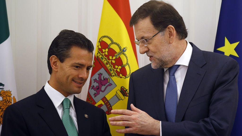 """Rajoy llama a Peña Nieto y acuardan trabajar en un arreglo """"justo"""" entre México y EEUU"""