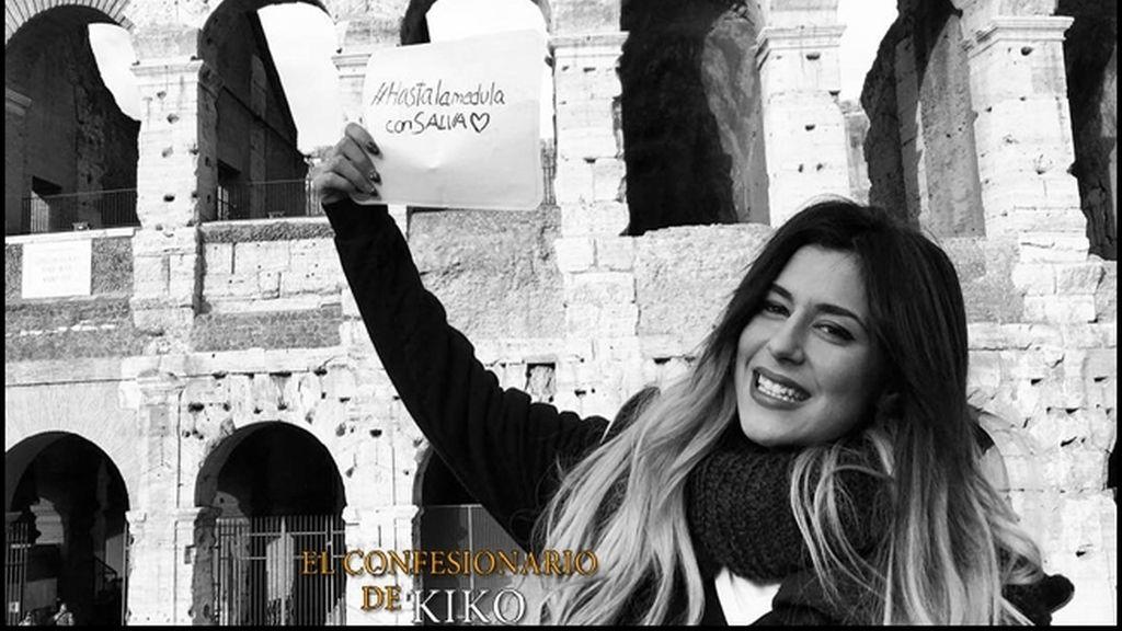 La pareja ha disfrutado de su amor en la capital italiana