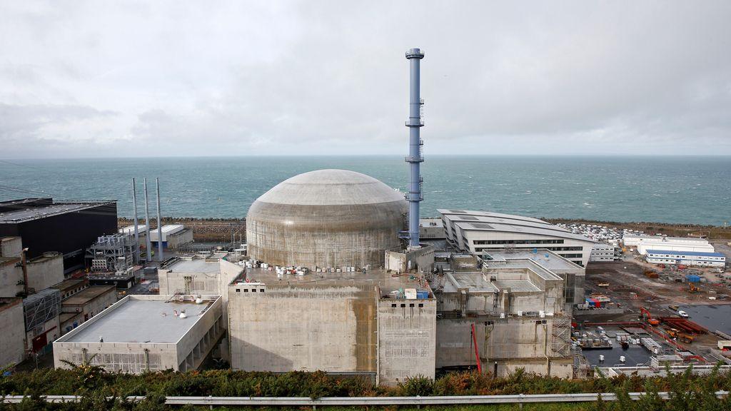 La central nuclear EDF en Flamanville