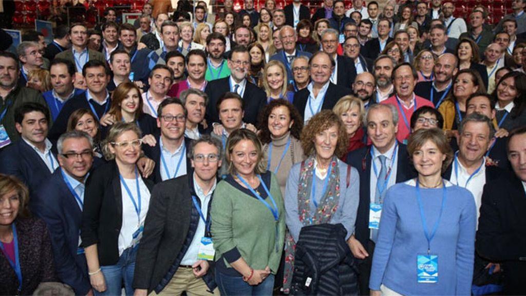 Lista del Comité Ejecutivo Nacional propuesto por Rajoy al XVIII Congreso