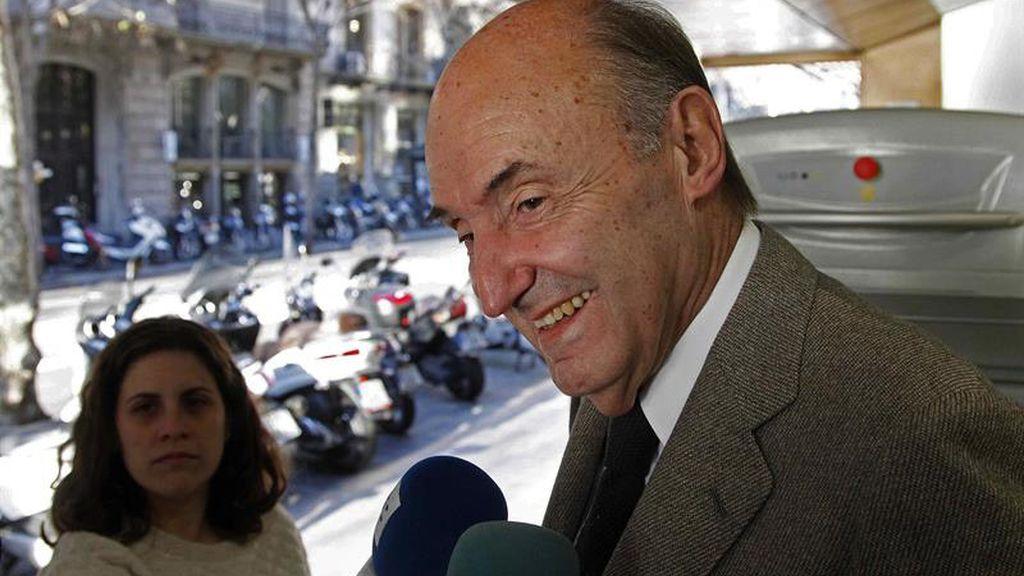 Miquel Roca, abogado de la infanta Cristina en el caso Nóos