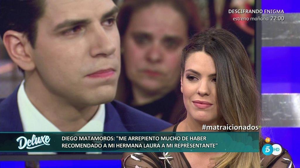 """Diego Matamoros: """"Me siento culpable por lo que le ha pasado a mi hermana"""""""