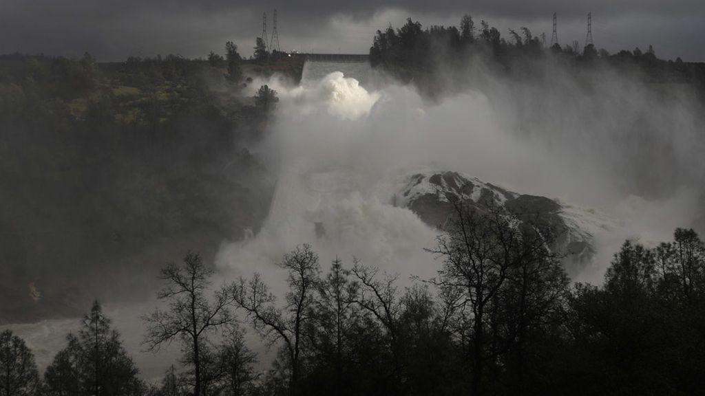 La presa de Oroville