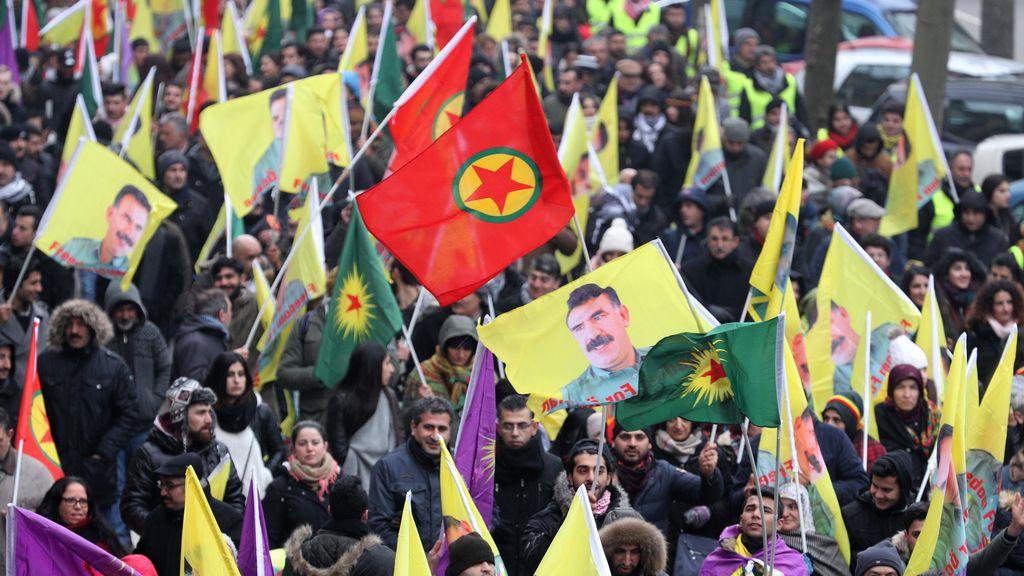 Manifestación en Estrasburgo