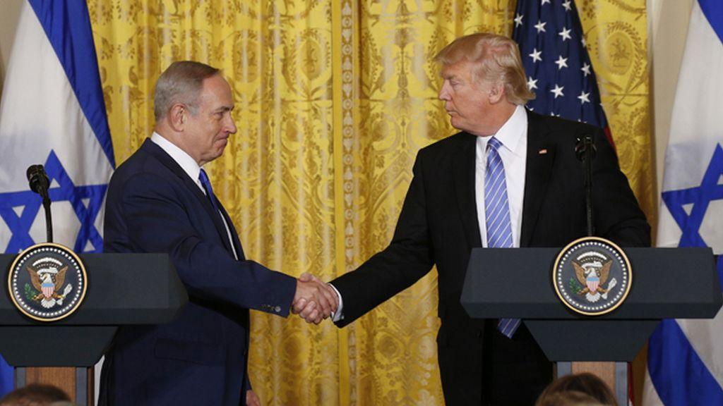 """Netanyahu y Trump y una amistad de """"muchos años"""""""
