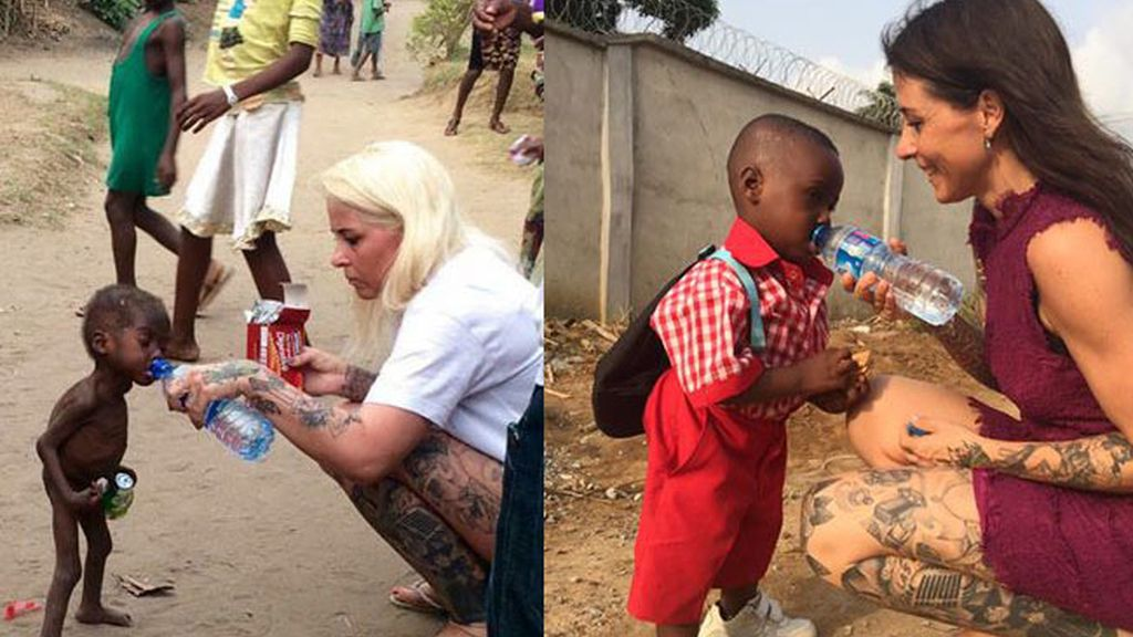 Hope, niño nigeriano