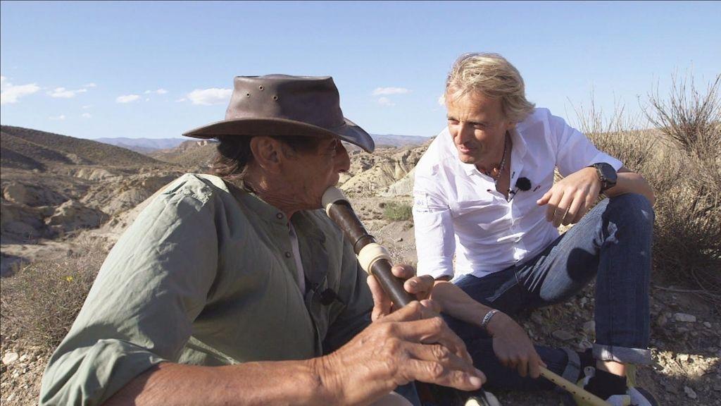 'Volando voy' se adentra en el desierto de Tabernas, el mayor Western de toda Europa