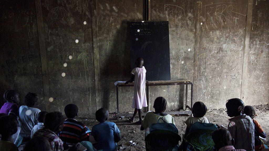 Escuela en Sudán