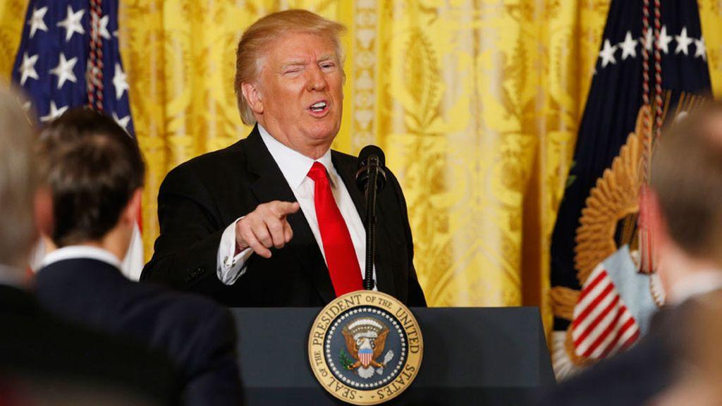 Donald Trump, contra la prensa