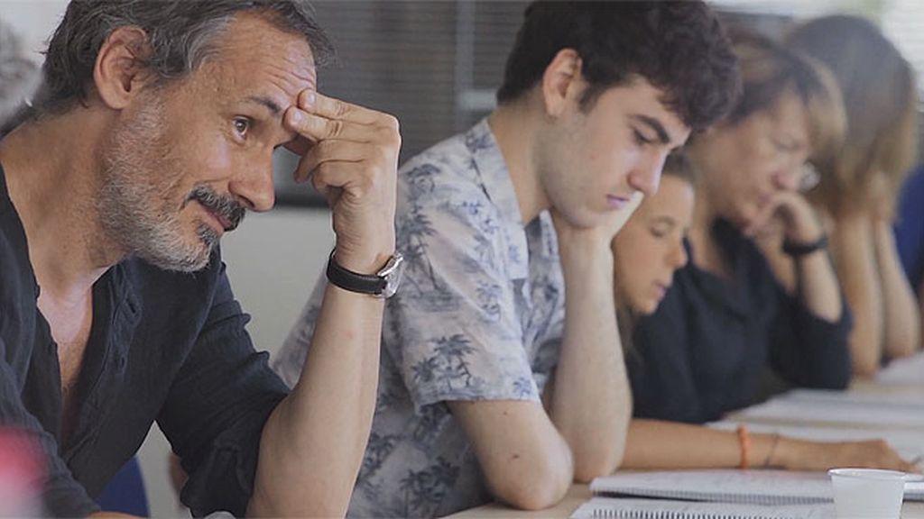 'Mesa italiana': Así han sido las lecturas de guion de Pau Freixas con el equipo