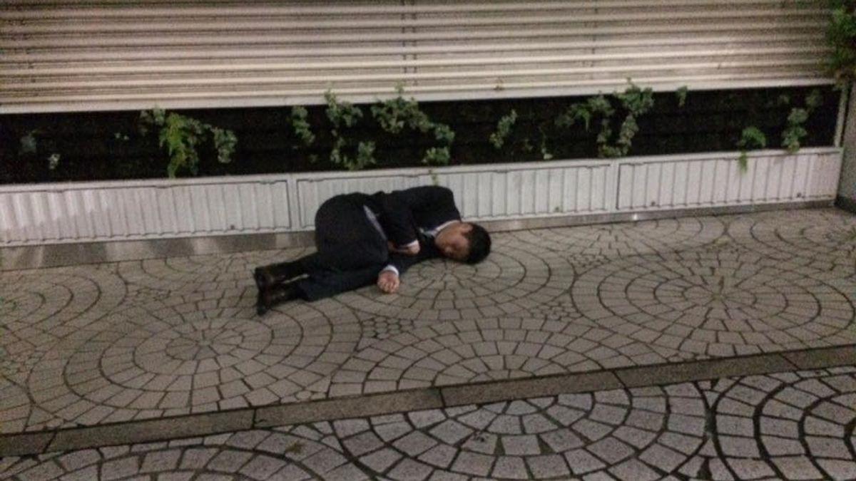 Japonés borracho 1