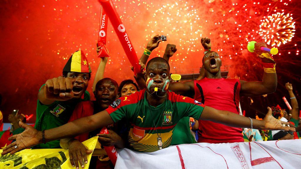 Camerún reina en el fútbol africano
