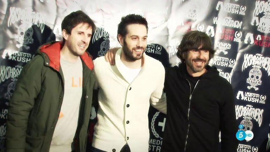 Dani Martínez, Julián López y Santi Millán, los 'valientes' de 'El Langui'