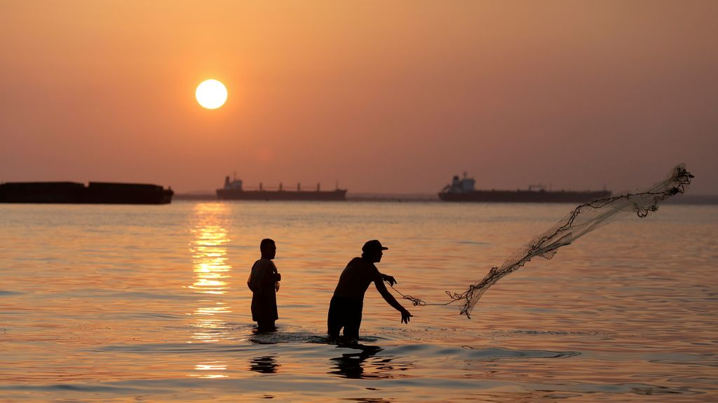Pesca en Maracaibo