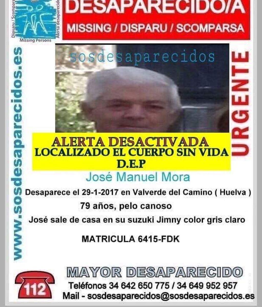 Desaparecido Huelva