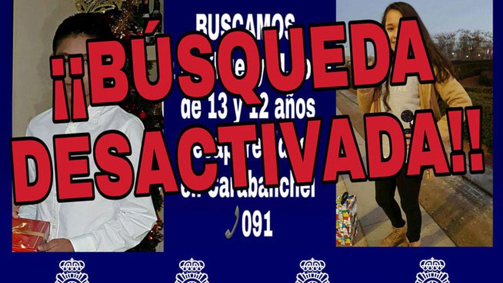 Encuentran a los dos menores desaparecidos en el barrio madrileño de Carabanchel