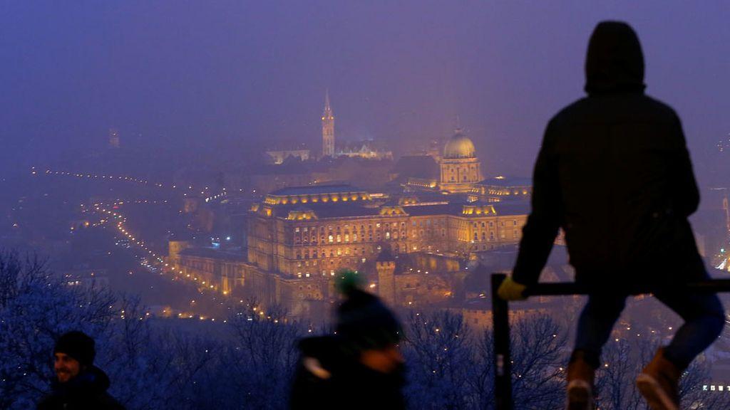 Invierno en Budapest