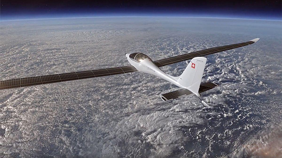 Un avión que pretende volar a más de 24.000 metros de altura
