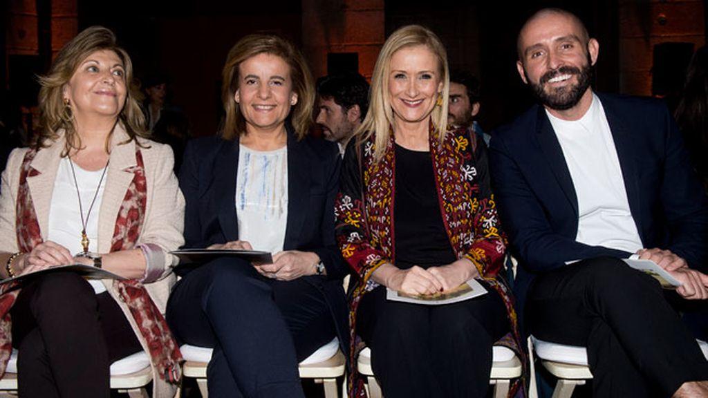 La ministra Fatima Báñez y Cristina Cifuentes